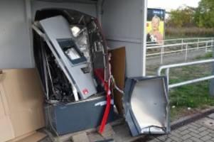 hannover: haftstrafen für drei fahrkartenautomaten-sprenger