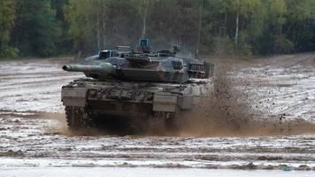 Verteidigung: Bundeswehr soll 80 weitere Panzer bekommen