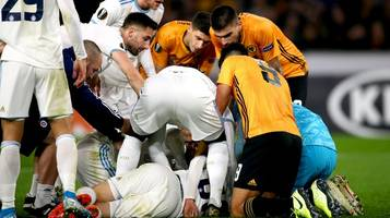 Europa League: Schock-Szene bei Partie – Spieler schwer am Kopf verletzt