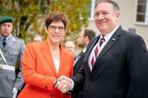 Pompeo: Deutschland muss mit den USA für Freiheit kämpfen