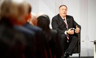 US-Außenminister Pompeo: Freiheit ist niemals garantiert