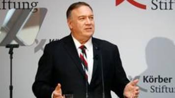 Pompeo attackiert Russland und China