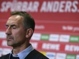 1. FC Köln: Beierlorzer beurlaubt