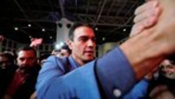 Pedro Sánchez: Spaniens Ministerpräsident warnt vor rechtsextremer Vox-Partei
