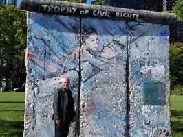 die berliner mauer in new york: alavi: ich würde das trump gern zeigen