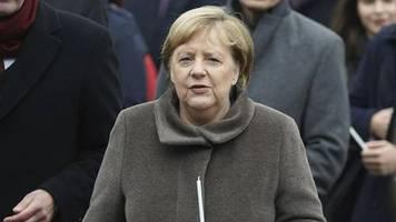 30 Jahre Mauerfall: Angela Merkel warnt vor Hass und Rassismus