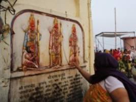 urteil in indien: oberstes gericht spricht heiligen grund in ayodhya den hindus zu