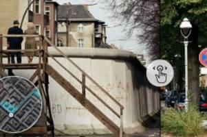 abendblatt interaktiv: fotovergleich: die berliner mauer damals und heute