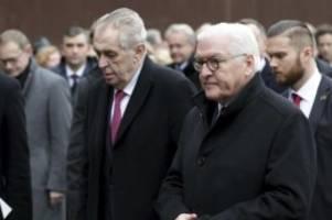 Geschichte: Steinmeier dankt Osteuropäern für Beitrag zu Mauerfall