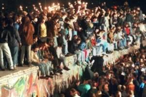 Veranstaltungen in Berlin: Vor 30 Jahren fiel die Mauer - Deutschland feiert
