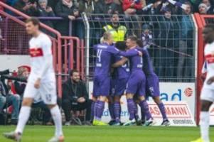 Fußball: 0:1 beim VfL Osnabrück: VfB Stuttgart patzt erneut