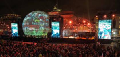 30. Jahrestag: Zehntausende feiern den Berliner Mauerfall