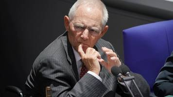 zu wenig klare orientierung - schäuble kritisiert große koalition: nicht optimal