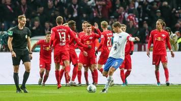 Bundesliga: Leipzig setzt Siegeszug fort - Union Berlin überholt Hertha