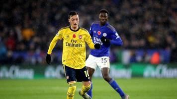 premier league: arsenal verliert gegen leicester - foxes nun tabellenzweiter