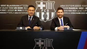 Primera División - Barça-Präsident Bartomeu: Bereiten die Ära nach Messi vor