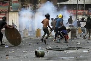 Erneut Tränengaseinsatz gegen Demonstranten im Irak