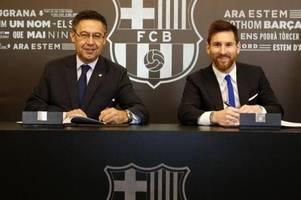 Barça-Präsident Bartomeu: Bereiten die Ära nach Messi vor
