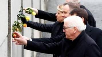 mauerfall-gedenken: in europa zu unserem glück vereint
