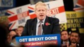 britische parlamentswahl: konservative deutlich vor labour-partei