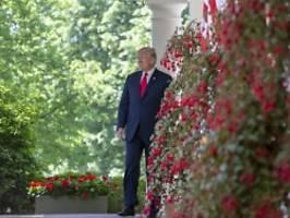 Mahnendes Geschenk abgewiesen: Trump will Berliner Mauerstück nicht haben