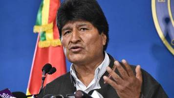 News des Wochenendes: Präsident Morales kündigt Neuwahlen in Bolivien an