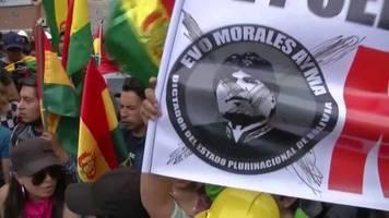 Video: Boliviens Präsident Morales kündigt Neuwahlen an