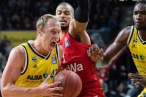 Bundesliga: Heim-Erfolg vs. Alba: Bayern-Basketballer gewinnen Topspiel