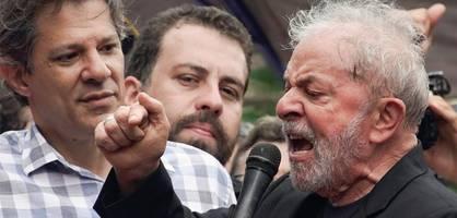 Luiz Inácio Lula da Silva aus Haft entlassen