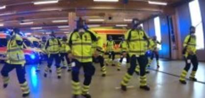 Git-up-Challenge in Bern: Sanitätspolizei setzt zum Cowboy-Boogie an