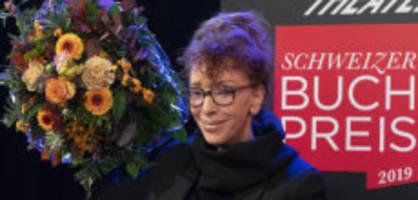 Schweizer Buchpreis an Sibylle Berg: «Nicht gewinnen fühlt sich scheisse an»
