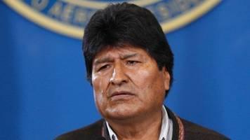 Drohender Putsch in Bolivien: Präsident Evo Morales kündigt Neuwahlen an