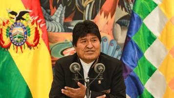 opposition sieht wahlbetrug: umstrittener evo morales kündigt neuwahlen in bolivien an