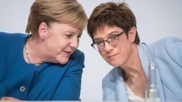 CDU: Verluste in zwei Umfragen: Wähler strafen Union ab