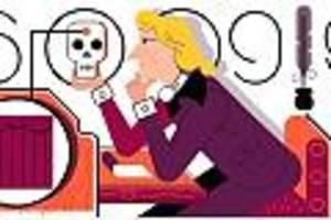 10. november  - friedrich von schiller im google doodle: wie er zum bedeutendsten dramatiker des landes wurde