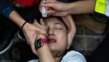 hongkong: wenn ich meine augen schließe, rieche ich tränengas