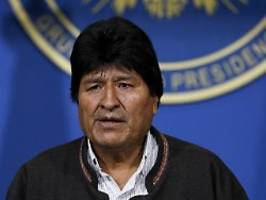 Chaos in Bolivien: Wo ist Evo Morales?