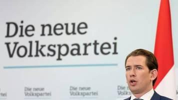 Konservative ÖVP beschließt Koalitionsverhandlungen mit Grünen