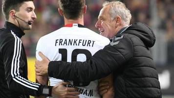 Freiburg besiegt Frankfurt: Streich scherzt nach Abrahams Rempler - DFB-Ermittlungen?