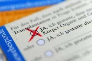 Gesundheit: Weniger Organspender in Brandenburg, in Berlin etwas mehr