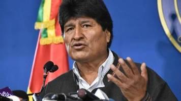 Bolivien steht nach Rücktritt von Präsident Morales vor ungewisser Zukunft