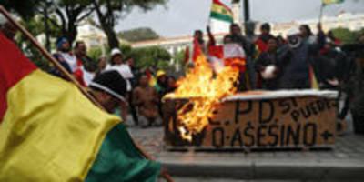 morales-rücktritt in bolivien: die legende vom putsch