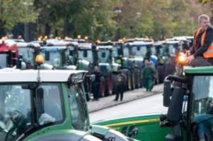 demonstrationen: 4000 traktoren zu demo erwartet: verkehrschaos droht