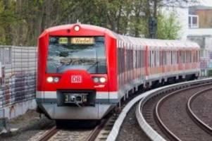 gleisbauarbeiten: s1: ab montagabend fahren busse statt s-bahnen