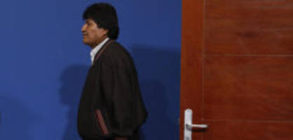 Aus humanitären Gründen: Morales erhält nach Rücktritt Asyl in Mexiko