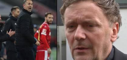 Trainer Achim Beierlorzer muss gehen