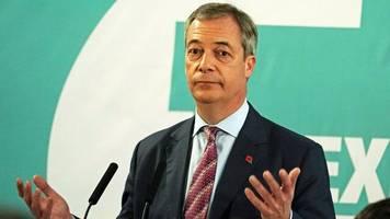 Großbritannien: Farage knickt im Streit mit Tories um Brexit-Wähler teilweise ein