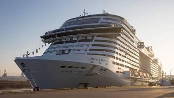 Kreuzfahrtschiff MSC Grandiosa mit gigantischer Ausstattung