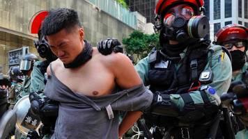 Hongkong: Gewalt eskaliert – Mann wird angezündet