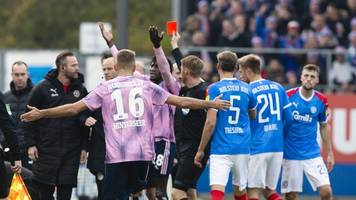 Zwei Spiele Sperre für HSV-Profi Jatta nach Roter Karte